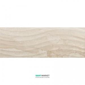 Плитка настенная Navarti Daino Reale Ondas Beige 25x70