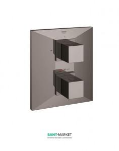 Смеситель с термостатом скрытый (встраиваемый) Grohe коллекция Allure Brilliant темный графит 19792A00