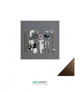 Механизм двойного слива SIMAS Lante D25BR для бачка LA09,бронза