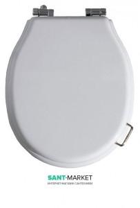Сиденье с крышкой для унитаза Simas  Lante LA006 с микролифтом, белое