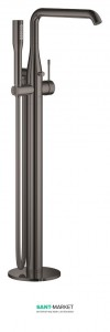 Смеситель однорычажный напольный (отдельностоящий) Grohe Essence графит 23491A01