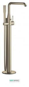 Смеситель однорычажный напольный (отдельностоящий) Grohe Essence никель 23491EN1