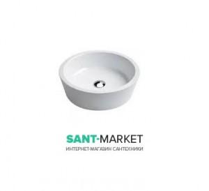 Раковина для ванной врезная в столешницу Catalano Zero 45 см без отверстия под смеситель белая 145KO00