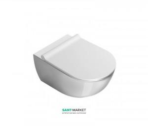 Унитаз Catalano Zero подвесной безободковый 35х55 см белый 1VS55NR00