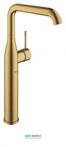 Смеситель для раковины однорычажный высокий Grohe Essence свободностоящий матовый прохладный восход 32901GN1