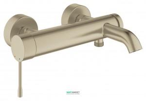 Смеситель однорычажный для ванны с коротким изливом Grohe коллекция Essence никель 33624EN1