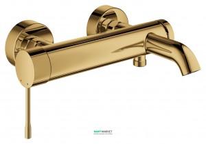 Смеситель однорычажный для ванны с коротким изливом Grohe коллекция Essence холодный рассвет 33624GL1