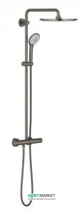 Душевая система Grohe Euphoria 310 с термостатическим смесителем матовый графит 26075AL0