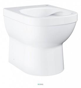 Унитаз напольный приставной Grohe Euro Ceramic с гигиеническим покрытием (без сиденья) альпин-белый 3932900H