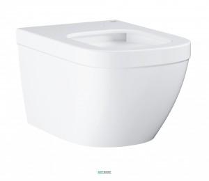 Унитаз подвесной Grohe Euro Ceramic с гигиеническим покрытием (без сиденья) альпин-белый 3932800H