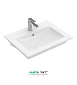 Раковина для ванной подвесная Villeroy & Boch коллекция Venticello 65 белая 41246501