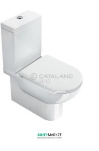 Унитаз напольный компакт Catalano SFERA 62х35 см белый 1MPSFN00