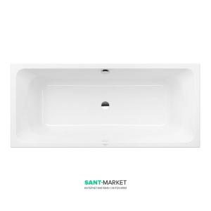 Ванна акриловая прямоугольная Villeroy & Boch коллекция Avento Duo 170x75х44 белая UBA170AVN2V-01