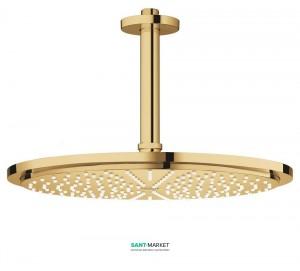 Верхний душ с потолочный кронштейном Grohe Rainshower Cosmopolitan 310 холодный рассвет 26067GL0
