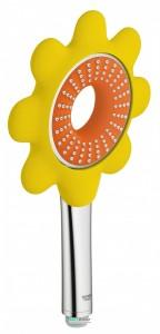 Ручной душ GROHE Rainshower Icon 100 (1 режим) оранжевый 26115YR0