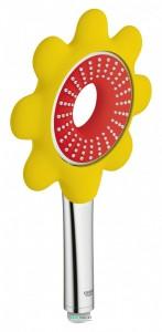 Ручной душ Grohe Rainshower Icon 100 (1 режим) красный 26115DG0
