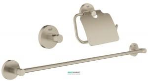 Набор аксессуаров Grohe Essentials 3 предмета никель 40775EN1