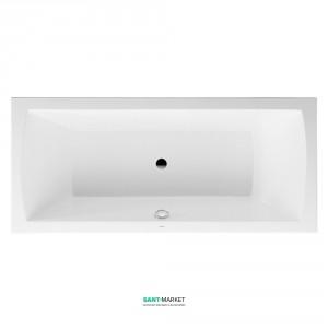 Ванна акриловая прямоугольная Duravit Daro  180x80x46 белая 700028000000000
