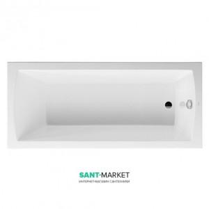 Ванна акриловая прямоугольная Duravit Daro  170x75x46 белая 700027000000000