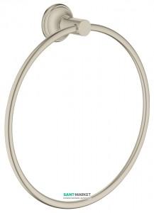 Кольцо для полотенца Grohe Essentials Authentic матовый никель 40655EN1