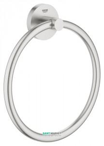 Полотенцедержатель кольцо Grohe Essentials суперсталь 40365DC1