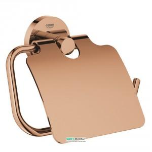 Держатель туалетной бумаги Grohe Essentials с крышкой теплый закат 40367DA1