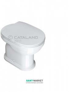 Унитаз напольный компакт Catalano CANOVA ROYAL 36х53 см под бачок белый 1VACV00