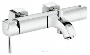 Смеситель однорычажный для ванны с коротким изливом Grohe Grandera хром 23317000