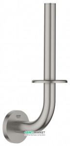 Бумагодержатель Grohe Essentials для запасного рулона суперсталь 40385DC1