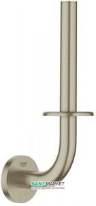 Бумагодержатель Grohe Essentials для запасного рулона никель 40385EN1