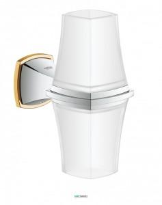 Светильник для ванной двойной Grohe Grandera хром/золото 40661IG0