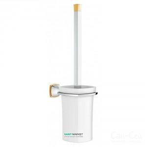 Туалетный ёршик Grohe Essentials хром/золото 40632IG0