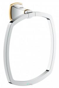 Кольцо для полотенца Grohe Grandera хром/золото 40630IG0