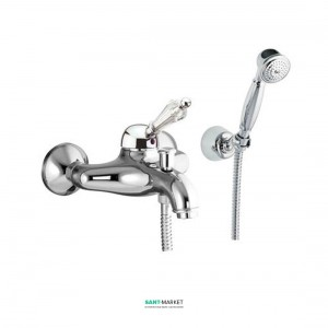 Смеситель для ванны c ручным душем Fiore IMPERIAL  хром/Swarovski 82CR5103