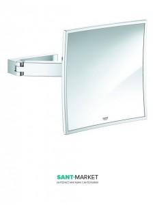 Зеркало косметическое Grohe Selection Cube хром 40808000