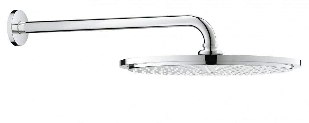 Верхний душ с кронштейном GROHE Rainshower Cosmopolitan Metal 310 хром 26056000