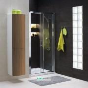Душевая дверь в нишу Kolo GEO 6 стеклянная раздвижная 160х190 часть 1/2 GDRS16222003A