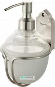 Диспенсер для жидкого мыла Haceka Vintage подвесной стекло/серебро 1170896