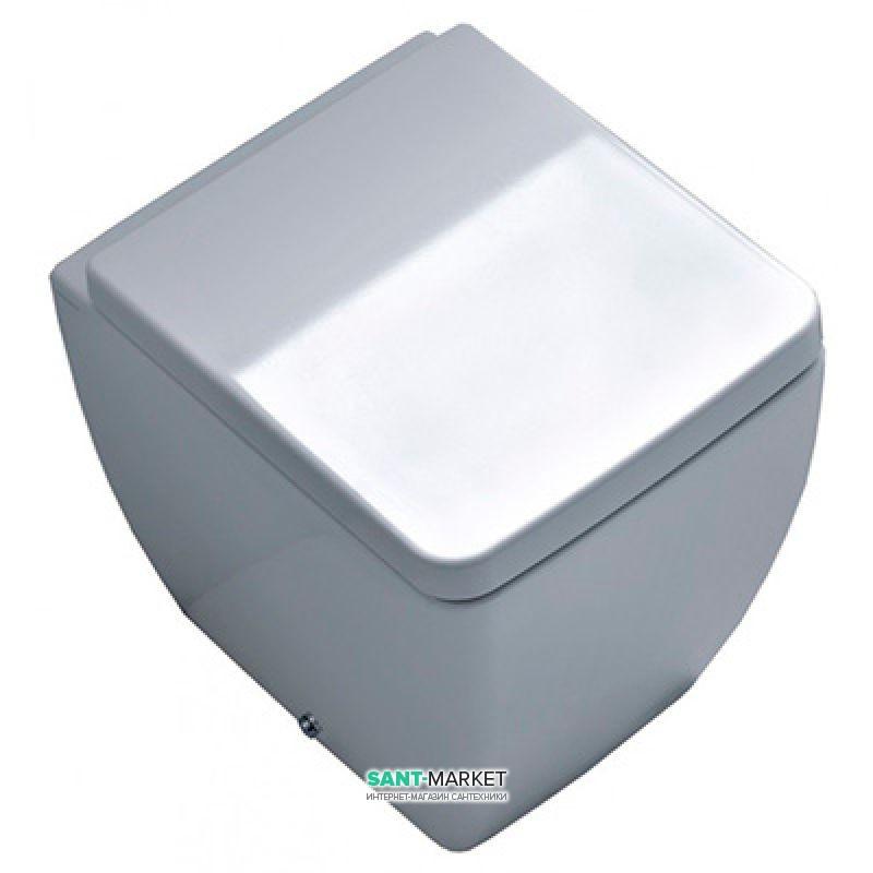 Унитаз напольный Kerasan Ego с крепежом белый 321401