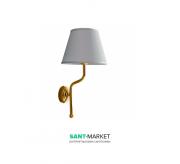 Светильник для ванной Kerasan Waldorf с абажуром белый/золото 7383K1