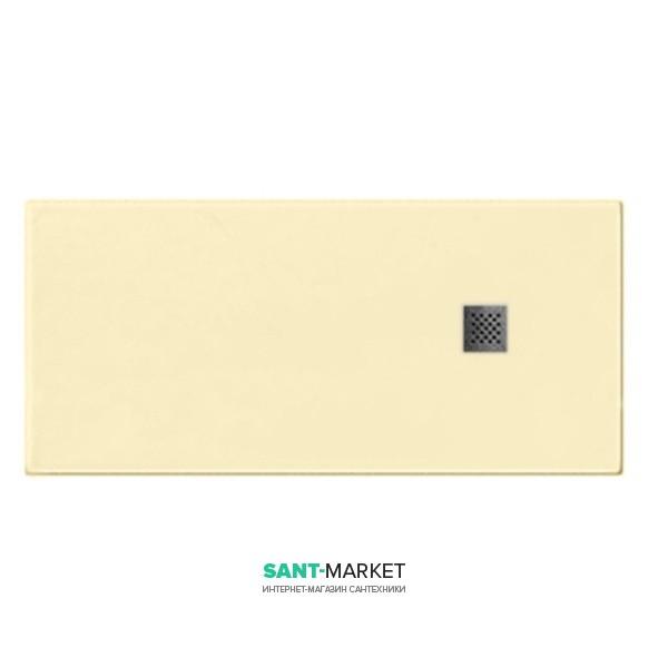 Душевой поддон мраморный Kerasan H2.5 170х70 см кремовый матовый 703765