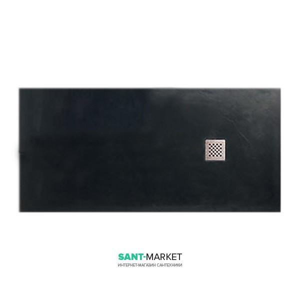 Душевой поддон мраморный Kerasan H2.5 180х70 см антрацит 703854