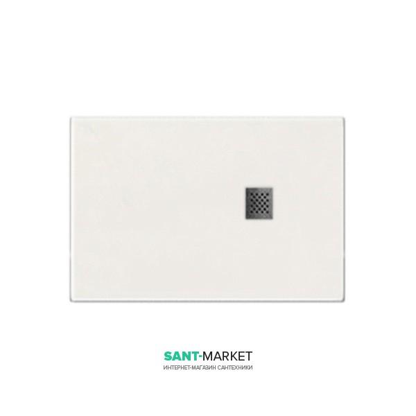 Душевой поддон мраморный Kerasan H2.5 140х80 см белый матовый 704130