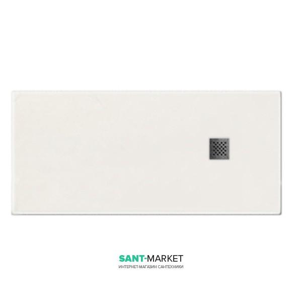 Душевой поддон мраморный Kerasan H2.5 160х80 см белый матовый 704230