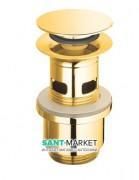 Слив для раковины Catalano с переливом латунь цвет золото 5PDSC00
