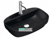 Раковина для ванной накладная Catalano Colori 60х40 керамика цвет черный поверхность сатин 160GRLXNNS