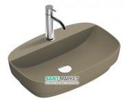 Раковина для ванной накладная Catalano Colori 60х40 керамика цвет коричневый поверхность сатин 160GRLXNMS