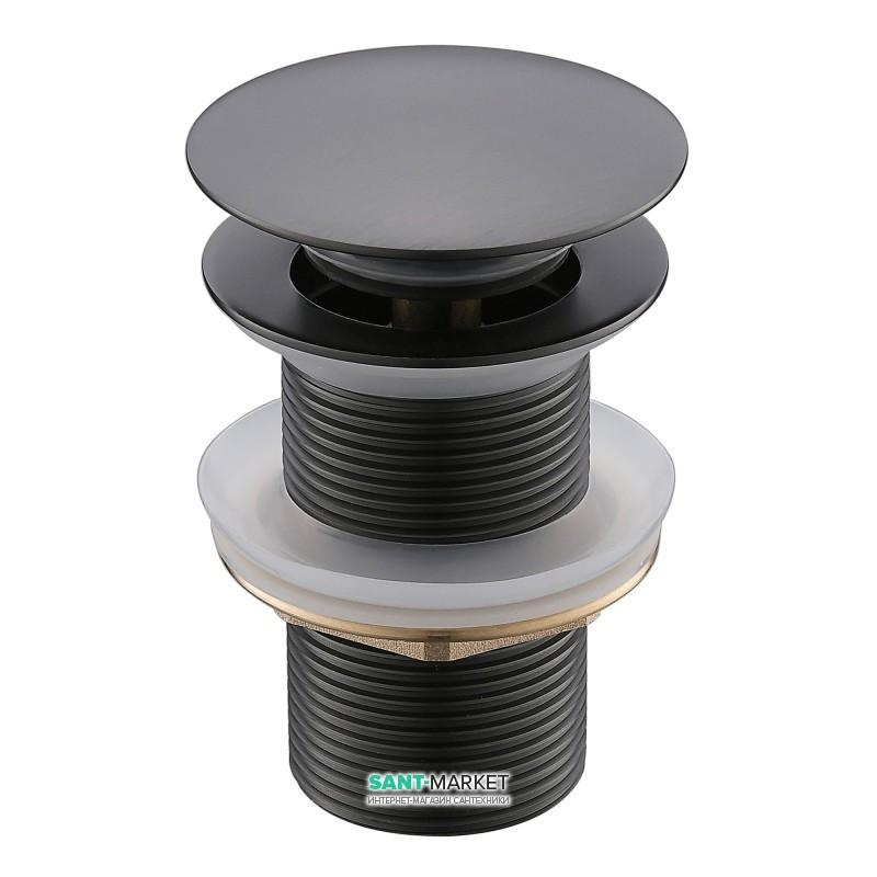 Донный клапан Imprese Grafiky Pop-up без перелива латунь черный никель ZMK041807510