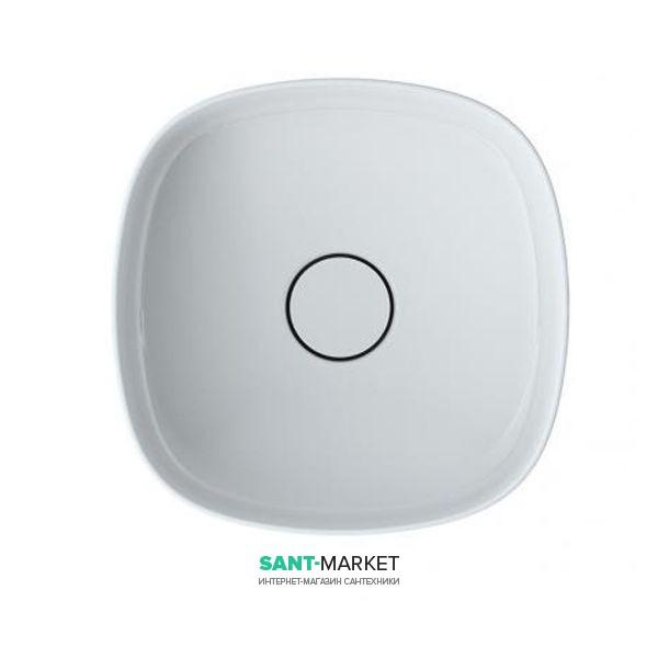 Раковина для ванной Roca Inspira Soft 37х37 см с керамической декоративной крышкой донного клапана A32750R000