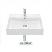 Раковина для ванной подвесная/накладная Roca Inspira 60х49 см керамика белая A32752C000